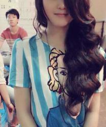 2013,今季最时尚,韩式波纹烫。