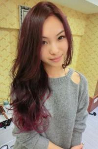 渐变的发色很美